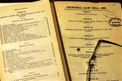 section 493 criminal code canada s outdated criminal code provisions