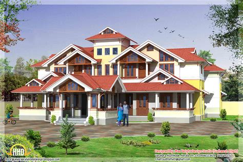 mansion home designs may 2012 kerala home design and floor plans