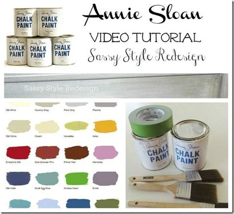 chalk paint tutorial español sloan chalk paint tutorial sloan