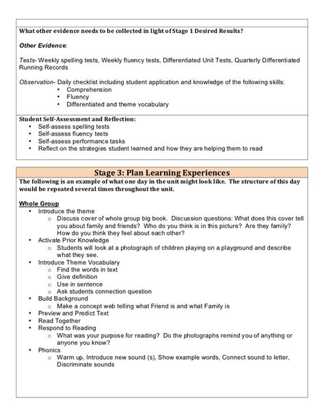 physical education floor hockey lesson plan common core famous tiered lesson plan template photos resume ideas