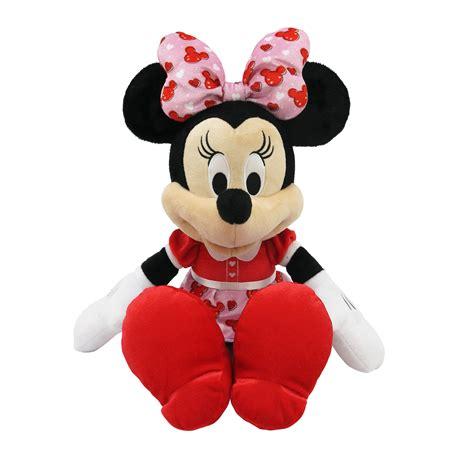 minnie mouse valentines disney 19 quot jumbo plush minnie mouse