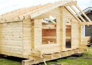 log cabin building is easy garden co uk garden