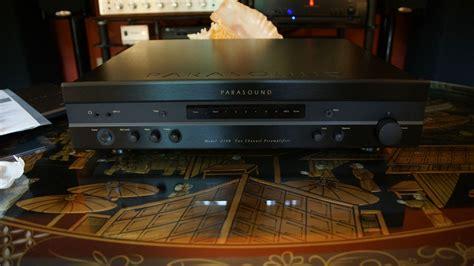 Pre Parasound 2100two Channel Pelifier parasound new classic 2100 prelifier polk audio
