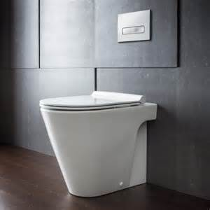 catalano zero 55 floor mount toilet pan with slim seat