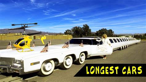 best limos in the world top 10 biggest and longest limousines in world history
