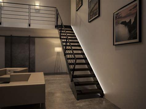 illuminazione scale a led illuminare le scale con le a led ecco 20 idee design