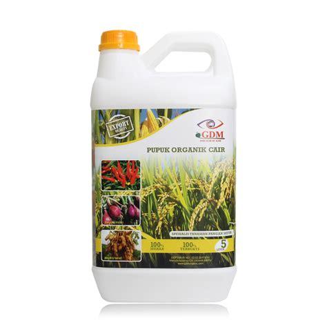 Pupuk Organik Gdm pupuk organik cair suplemen organik cair gdm