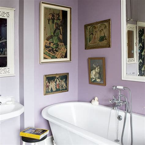 mauve bathroom bathrooms design ideas image