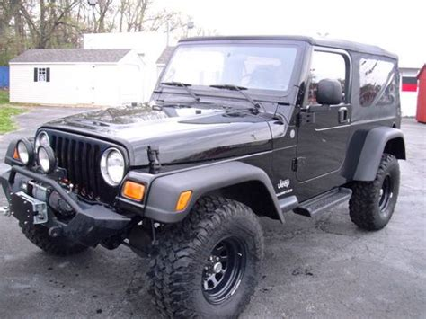 1990 Jeep Lift Kit Buy Used 1990 White Jeep Wrangler Lift Kit Snorkel 4