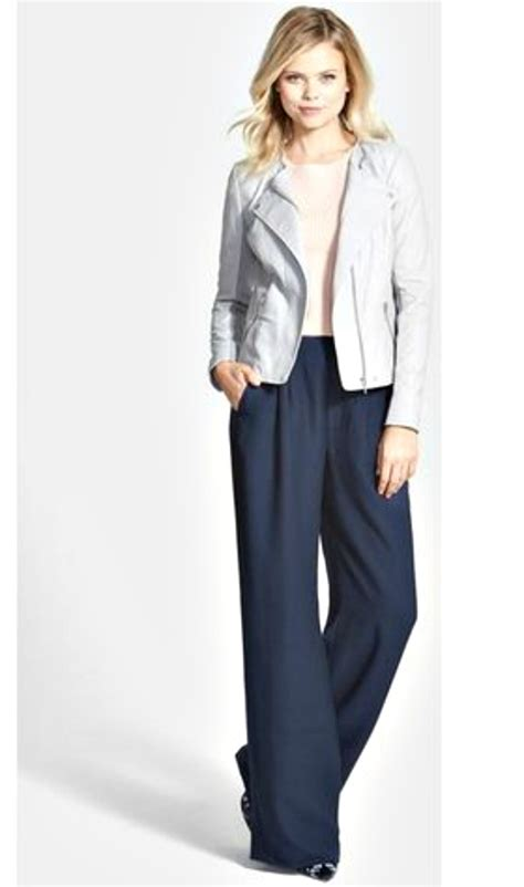 Yay Or Nay High Waist Wide Leg by Trend Report Wide Leg Trouser Grace
