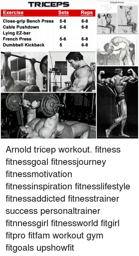 bench press reps and sets 25 best memes about triceps workout triceps workout memes