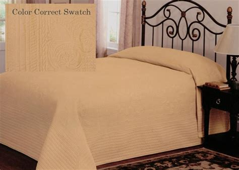 oversized king coverlets country french gold oversized bedspread coverlet matelasse