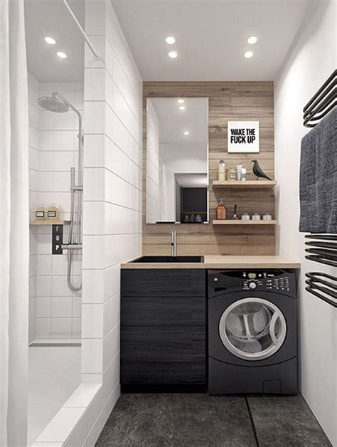 Laundry Hers For Small Spaces 12 Tiny Laundry Space With Saving Space Ideas Http Www Decorazilla Decor Ideas 12 Tiny