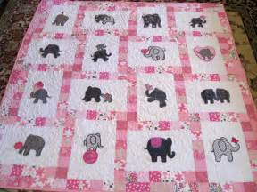 vicki s fabric creations pretty in pink elephant quilt