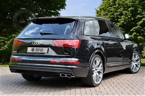 Audi Sq7 Black 01 Adaptive Vehicle Solutions Ltd