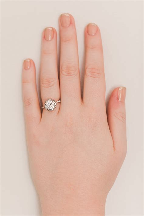 Wedding Bell Nail by Wedding Bells Our Favorite Engagement Ring Manicure
