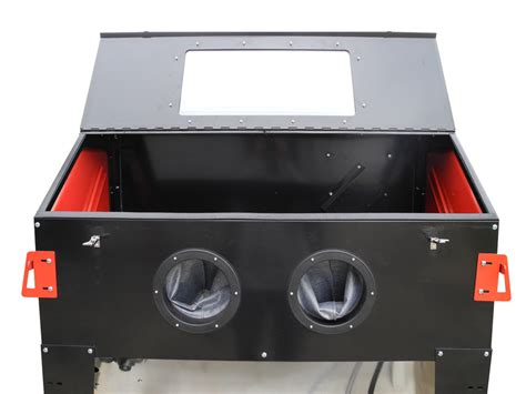 Blast Cabinet by Redline Re48 Abrasive Sand Blasting Cabinet Free Shipping