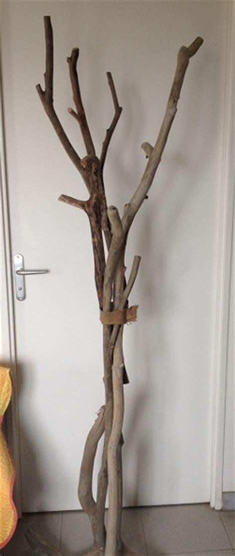 porte manteaux sur pied en bois flott 233 cr 233 ation en bois