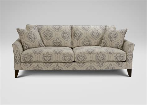 loveseat couch carlotta sofa and loveseat ethan allen