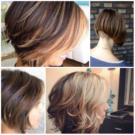 asymetrical ans stacked hairstyles asymmetric bob haircut 2018 haircuts models ideas