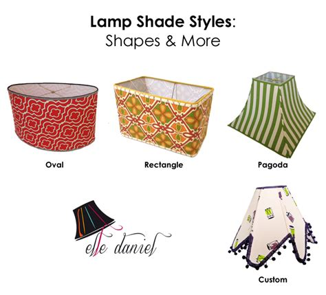 lshade shapes l shades custom drum rectangular empire coolie