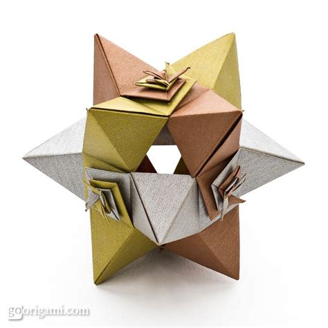 Shaped Origami - shaped polyhedron by toshikazu kawasaki go origami