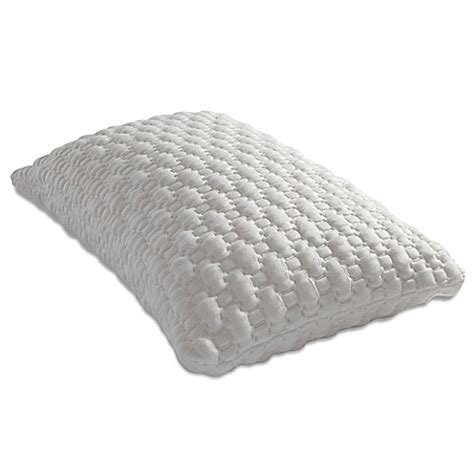 memory foam pillow bed bath beyond pure breeze harmony shredded memory foam standard pillow