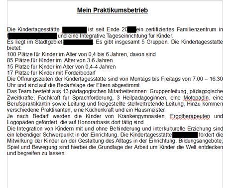 Wochenbericht Praktikum Vorlage Grundschule Praktikumsmappe Mein Praktikumsbetrieb Sch 252 Lerpraktikum Schule Kinder Praktikum
