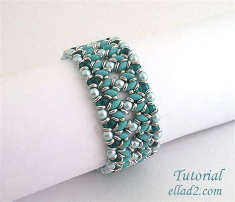 etsy bracelet pattern tutorial o duo bracelet beading pattern instant by ellad2