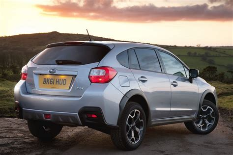 subaru crossover 2012 new subaru crossover pricing released for britain