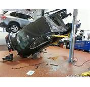 This 2006 BMW 330i Was Getting Some Repair Work Done And Fell Off The