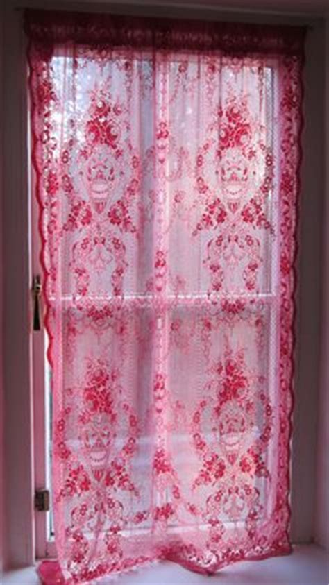 dying lace curtains pink fuchsia rose on pinterest pink roses pink and