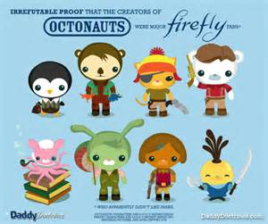 irrefutable proof creators octonauts major firefly fans routly