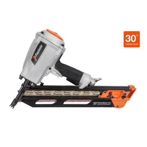 Air Nailer F 30 Nrt Pro paslode powermaster pro 30 degree pneumatic framing nailer