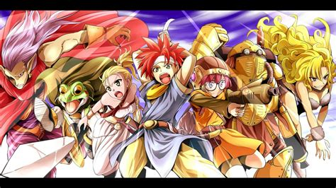download anime action chrono trigger rpg anime action fantasy wallpaper