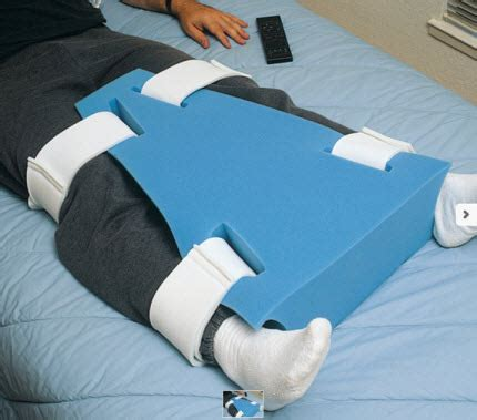 hip abduction pillow after hip surgery leg abduction wedge free shipping