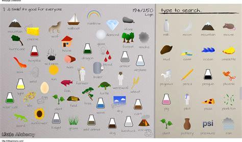 Little alchemy acieartikulasi