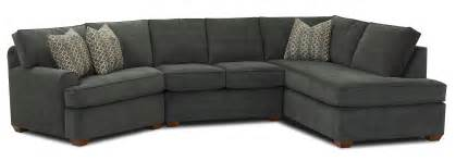 hybrid sectional sofa with right facing sofa chaise by