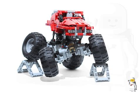 how does truck jam last 42005 truck motorized and rc lego technic and