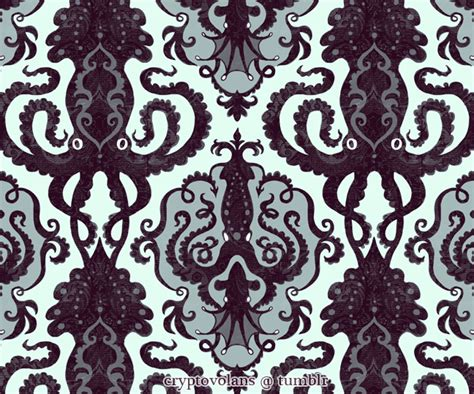 victorian pattern pinterest victorian squid pattern patterns and backgrounds