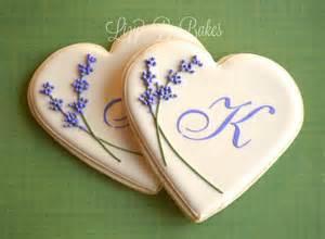 lizy b bridal shower monogram cookies