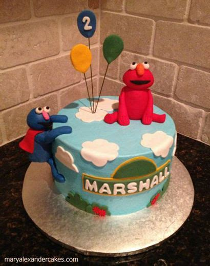 Mary Alexander Cakes in Dallas, Texas: Gallery of Cakes. Sesame Street theme cake for one year