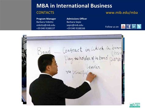 Which One Is Better Mba Or Mib by International Mba