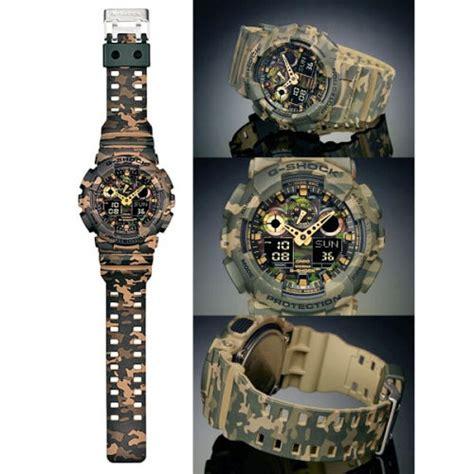 Casio Gshock Ga 100 Cm A5 reloj casio g shock ga 100cm 5aer camouflage en oferta