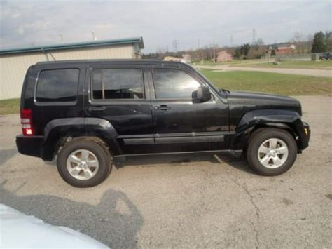wrecked jeep liberty purchase used 2012 jeep liberty sport 4wd salvage