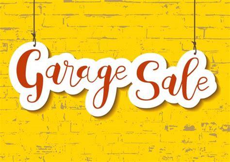 garage sale illustrations royalty  vector