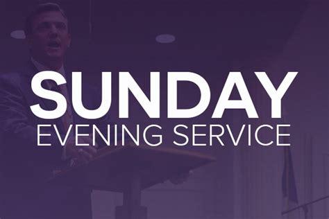 saturday evening church service