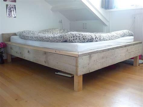 bed van steigerhout tweepersoonsbed van steigerhout 140cm