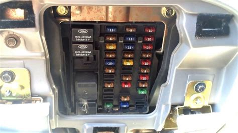 ford f150 light fuse location 1998 ford f150 fuse box diagram wiring diagram and fuse