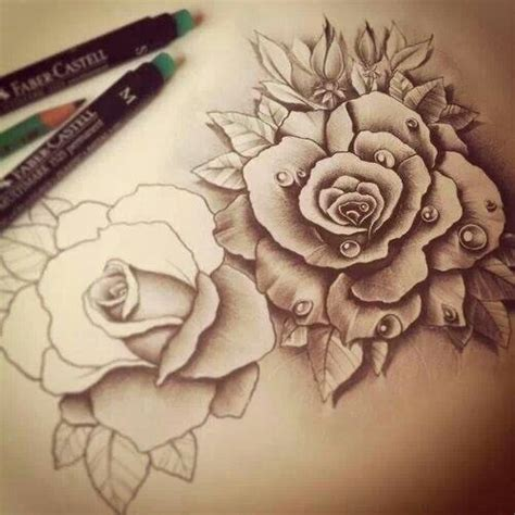 tattoo sketches of roses roses sketch flowers sketch awesome